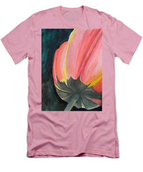 Men's T-Shirt (Slim Fit) featuring the painting Looking Up by Betty-Anne McDonald