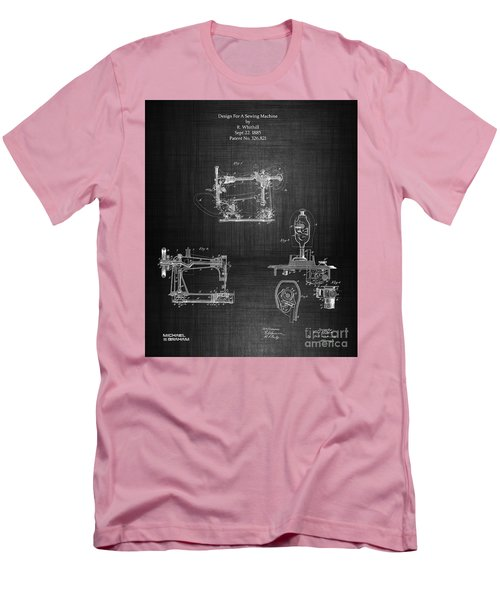1885 Singer Sewing Machine Men's T-Shirt (Athletic Fit)