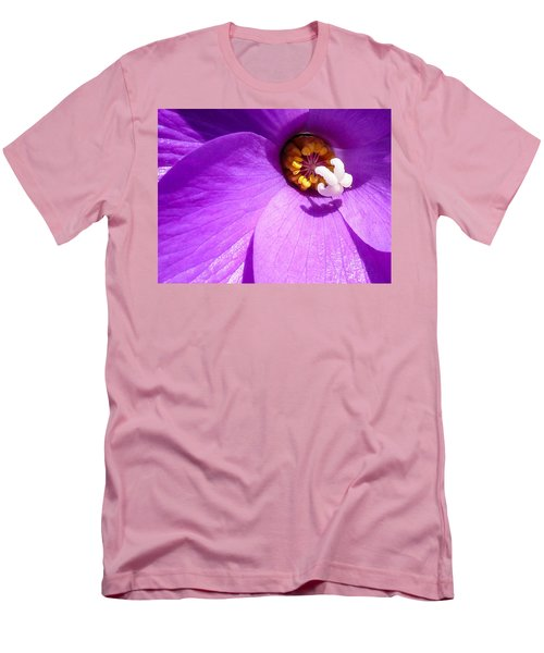 Flower Men's T-Shirt (Slim Fit) by Gandz Photography