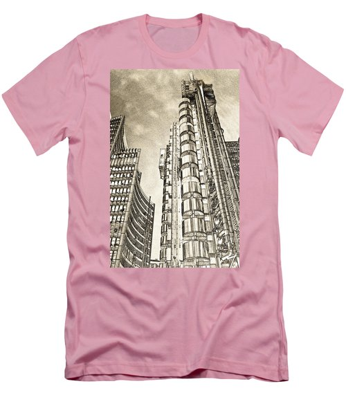 Willis Group And Lloyd's Of London Art Men's T-Shirt (Athletic Fit)