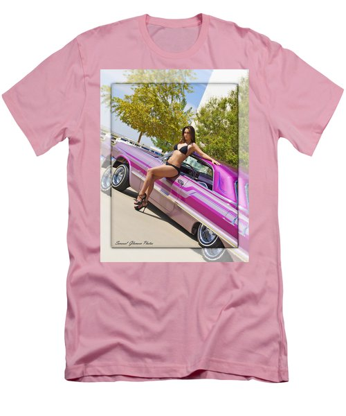 Lowrider Men's T-Shirt (Slim Fit) by Walter Herrit