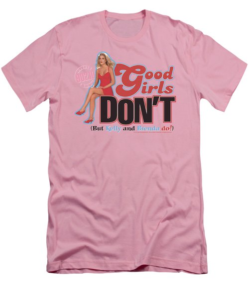 90210 - Good Girls Don't Men's T-Shirt (Athletic Fit)