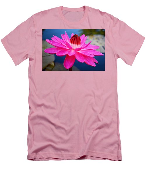 A Flower And A Dream... Men's T-Shirt (Athletic Fit)