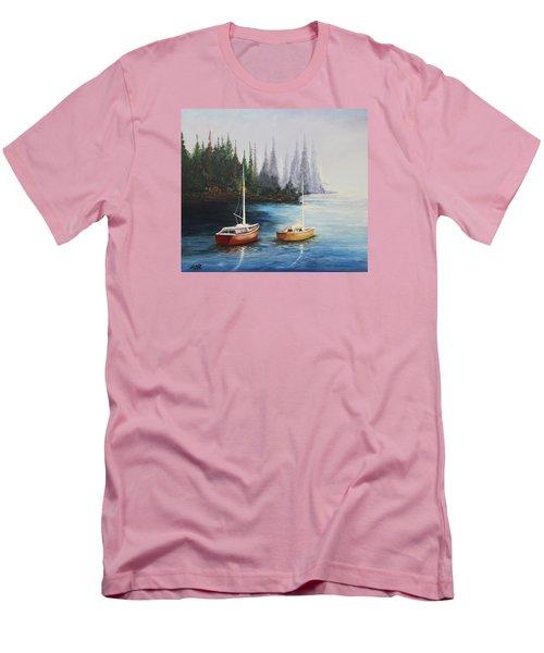 Acrylic Msc 110  Men's T-Shirt (Slim Fit) by Mario Sergio Calzi