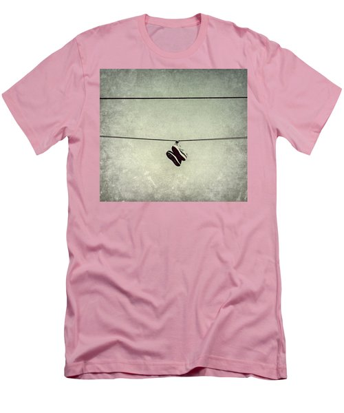 Men's T-Shirt (Slim Fit) featuring the photograph All Tied Up by Melanie Lankford Photography