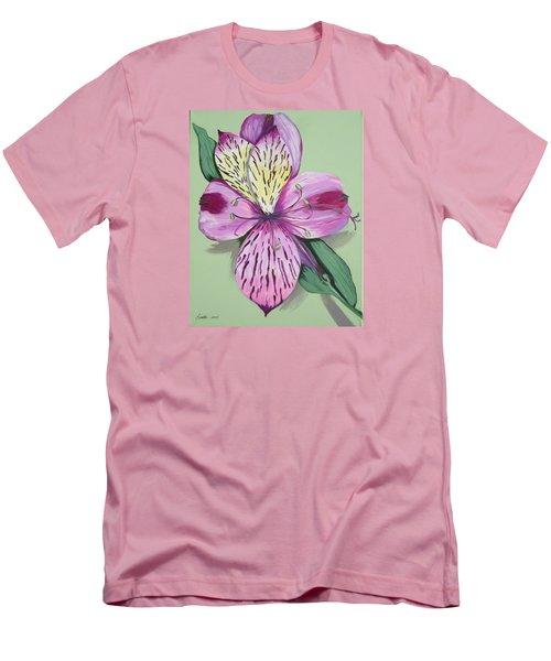 Alstroemeria No.1 Men's T-Shirt (Slim Fit)