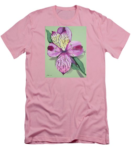 Alstroemeria No.1 Men's T-Shirt (Athletic Fit)