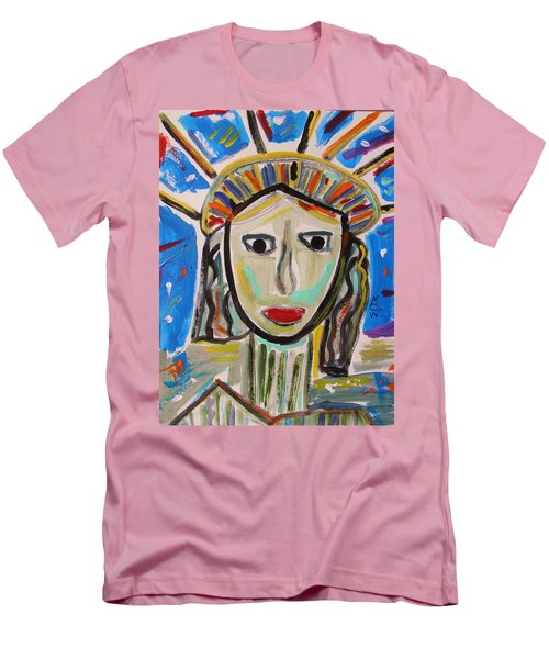American Lady Men's T-Shirt (Slim Fit) by Mary Carol Williams