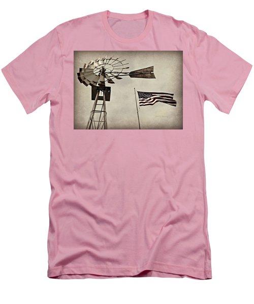 Americana Men's T-Shirt (Slim Fit) by Chris Berry