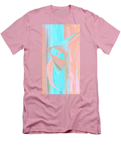 Men's T-Shirt (Slim Fit) featuring the digital art Angelfish by Stephanie Grant