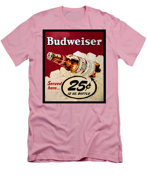 Antique Budweiser Signage Men's T-Shirt (Athletic Fit)