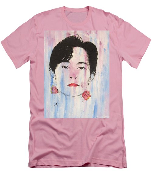 Aung San Suu Kyi Men's T-Shirt (Athletic Fit)