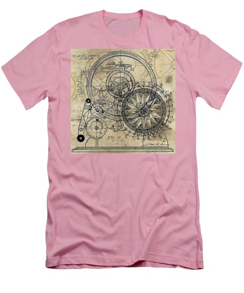 Autowheel II Men's T-Shirt (Slim Fit) by James Christopher Hill