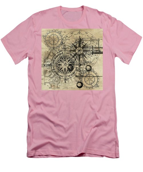 Autowheel IIi Men's T-Shirt (Slim Fit) by James Christopher Hill