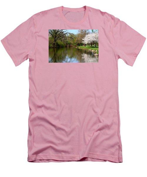 Baker Park Men's T-Shirt (Slim Fit) by Patti Whitten