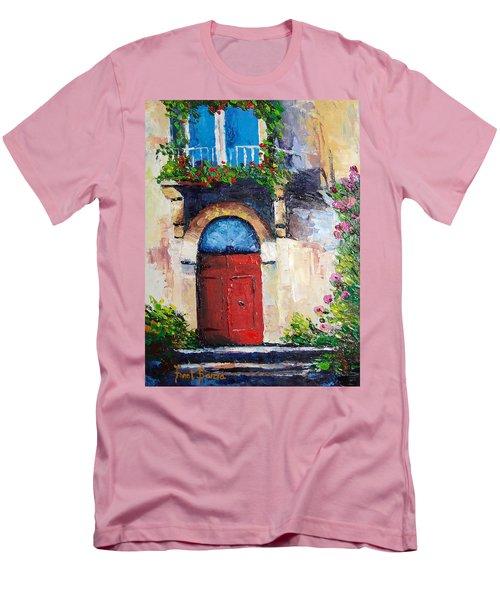 Balcony Men's T-Shirt (Athletic Fit)