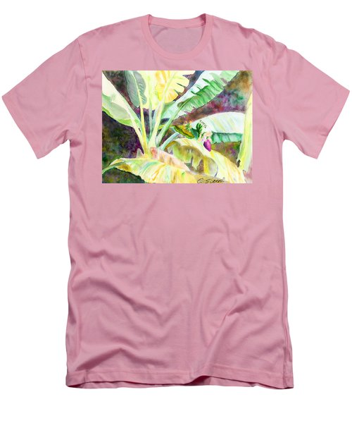 Banana Tree Men's T-Shirt (Slim Fit) by C Sitton