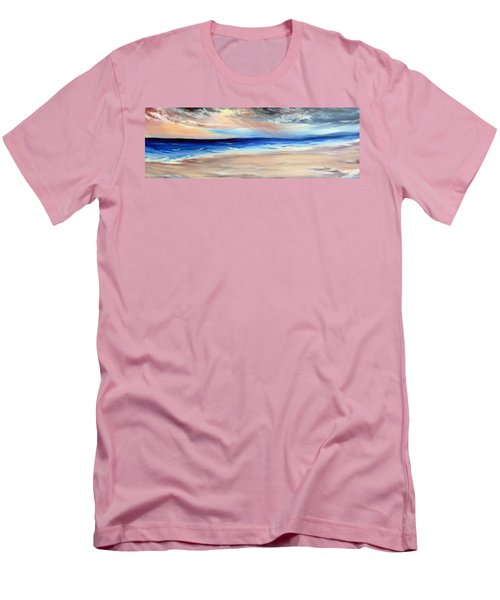 Men's T-Shirt (Slim Fit) featuring the painting Be Near by Meaghan Troup