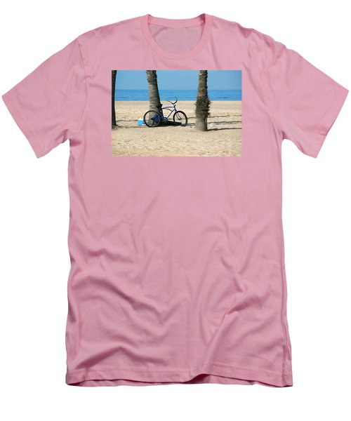 Beach Day Men's T-Shirt (Slim Fit) by Art Block Collections