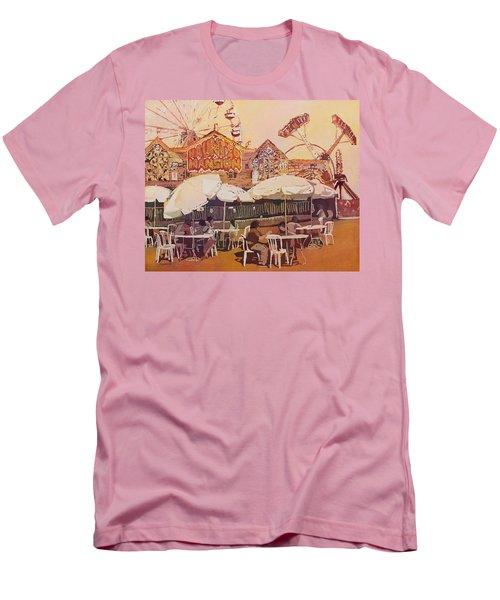 Between Amusements Men's T-Shirt (Athletic Fit)
