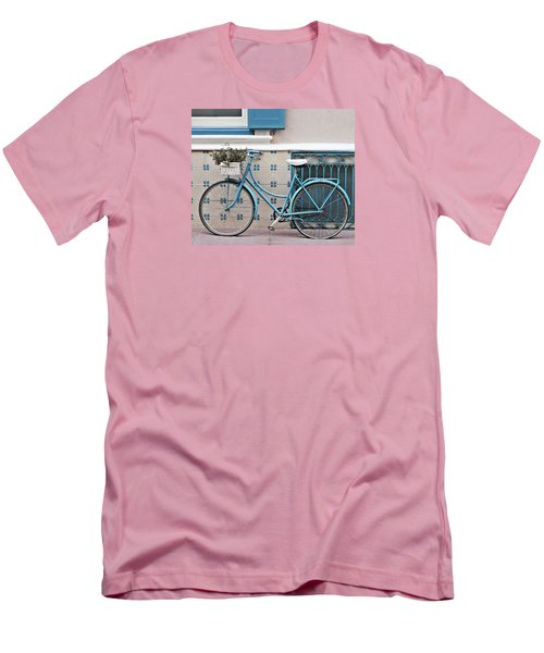 Vintage Bicycle Photography - Bicycles Are Not Only For Summer Men's T-Shirt (Athletic Fit)