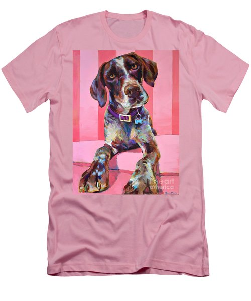 Men's T-Shirt (Slim Fit) featuring the painting Big Hank by Robert Phelps