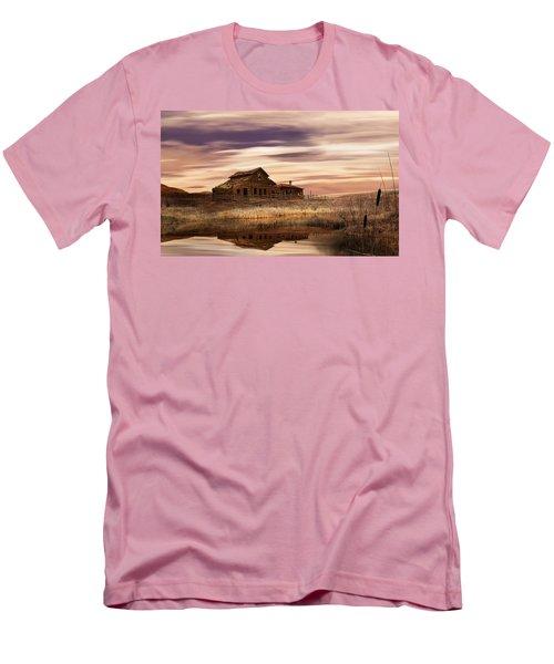 Black Sage Dawn Men's T-Shirt (Slim Fit) by John Poon