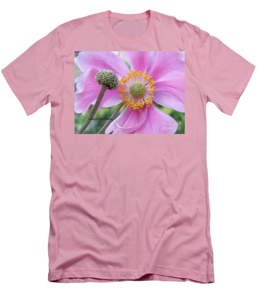 Blossom Men's T-Shirt (Slim Fit) by Lainie Wrightson