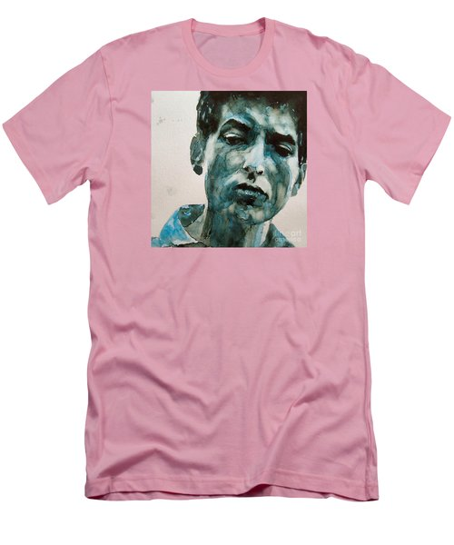 Bob Dylan Men's T-Shirt (Slim Fit) by Paul Lovering