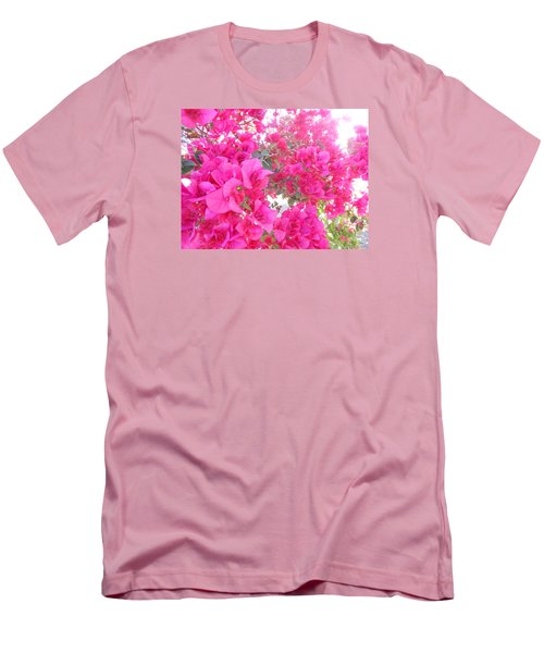 Bougainvillea Men's T-Shirt (Slim Fit) by Kay Gilley