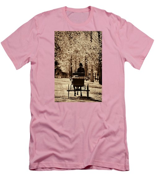 Men's T-Shirt (Slim Fit) featuring the photograph Buggy Ride by Joan Davis