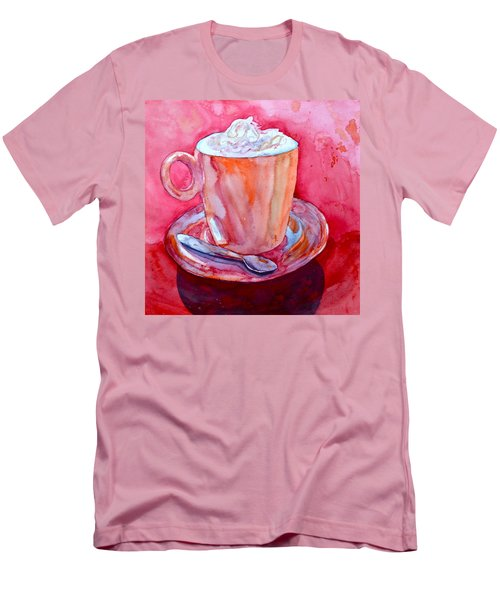 Men's T-Shirt (Slim Fit) featuring the painting Buon Appetito by Beverley Harper Tinsley