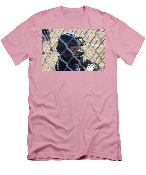 Catcher Men's T-Shirt (Slim Fit) by Chris Thomas