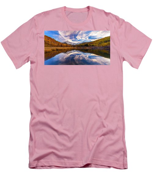 Colorful Reflection Men's T-Shirt (Athletic Fit)