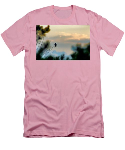 Men's T-Shirt (Slim Fit) featuring the photograph Contemplation by Bruce Patrick Smith