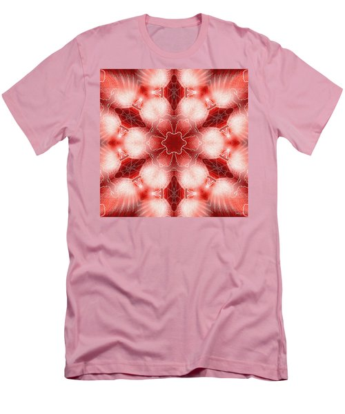 Cosmic Spiral Kaleidoscope 22 Men's T-Shirt (Athletic Fit)