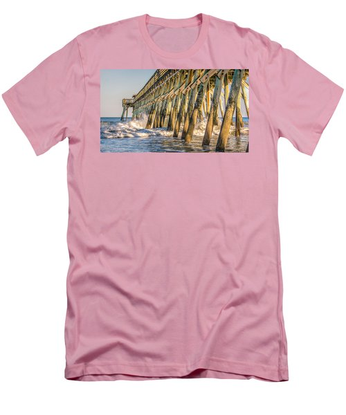 Men's T-Shirt (Slim Fit) featuring the photograph Crash by Rob Sellers