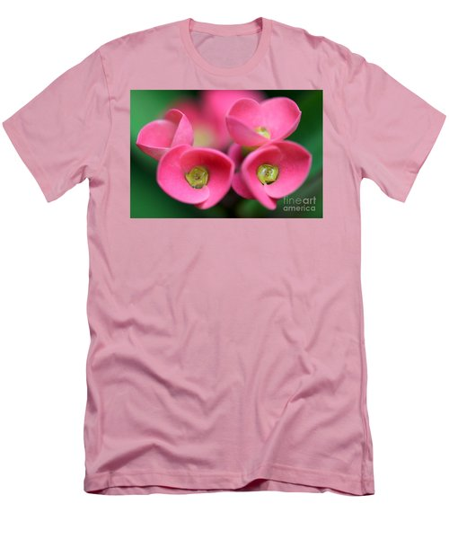 Men's T-Shirt (Slim Fit) featuring the photograph Crown Of Thorns Photo by Meg Rousher