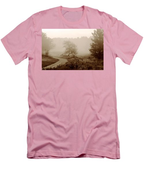 Men's T-Shirt (Slim Fit) featuring the photograph Desolation  by Bruce Patrick Smith