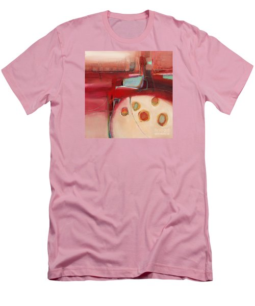 Men's T-Shirt (Slim Fit) featuring the painting Dory On The Quay by Michelle Abrams
