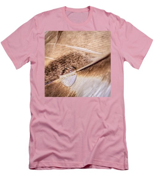 Droplet On A Quill Men's T-Shirt (Athletic Fit)