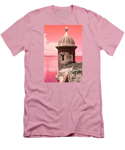 El Morro In The Pink Men's T-Shirt (Athletic Fit)