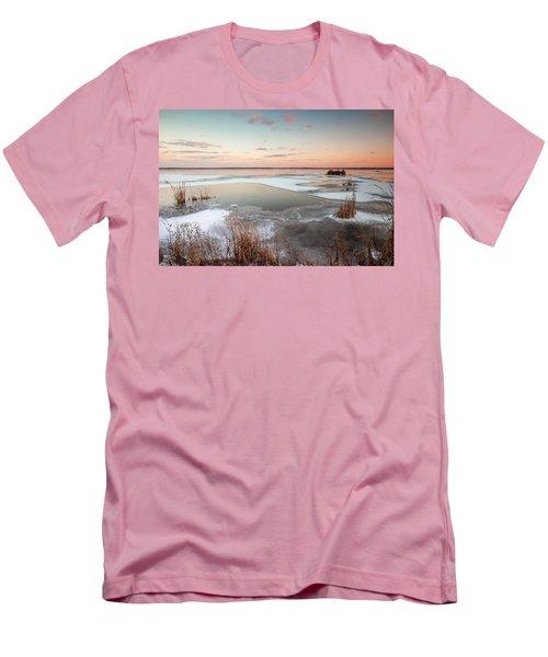 Emiquon Sunset Men's T-Shirt (Athletic Fit)