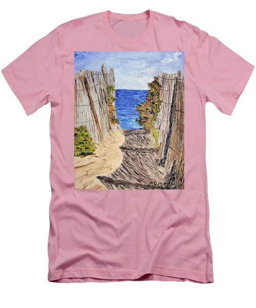 Entrance To Summer Men's T-Shirt (Athletic Fit)