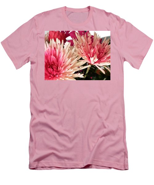 Feel The Heart Felt Love Men's T-Shirt (Slim Fit) by Belinda Lee