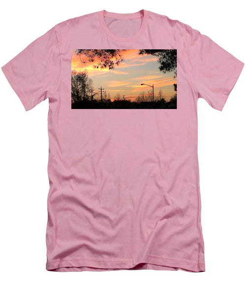 Fire Sky Men's T-Shirt (Slim Fit)