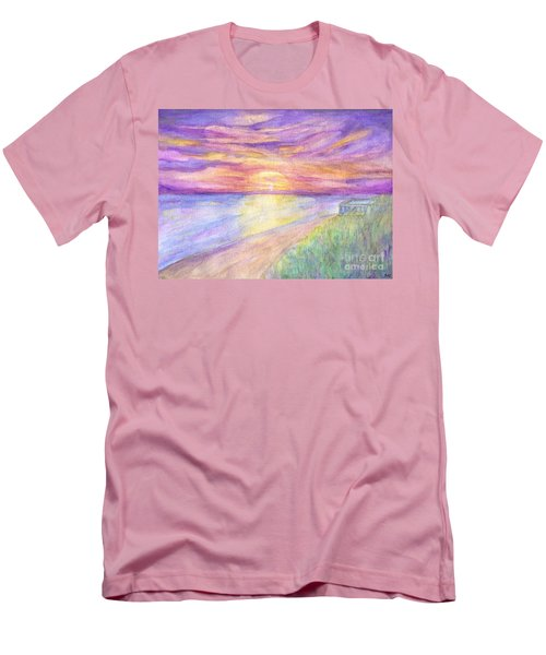 Flagler Beach Sunrise Men's T-Shirt (Athletic Fit)