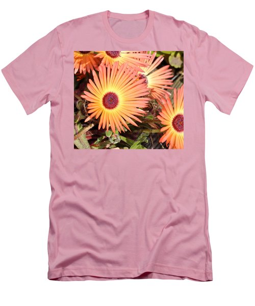 Men's T-Shirt (Slim Fit) featuring the photograph Floral by Cathy Mahnke