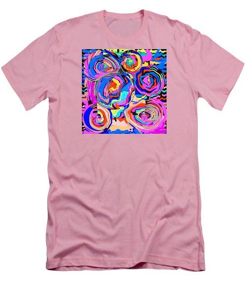 Abstract Art Painting #2 Men's T-Shirt (Slim Fit) by RjFxx at beautifullart com