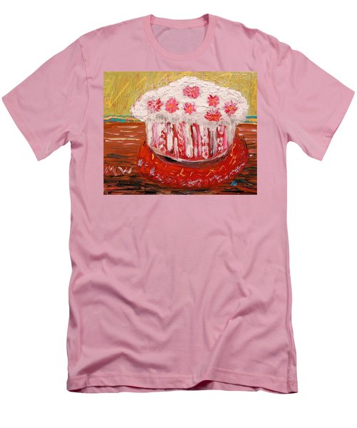 Flowers In The Frosting Men's T-Shirt (Slim Fit) by Mary Carol Williams